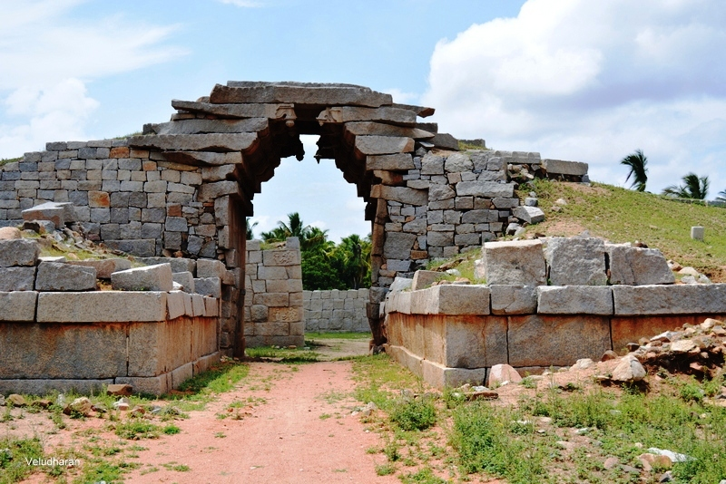 Bhima's Gate in Hampi