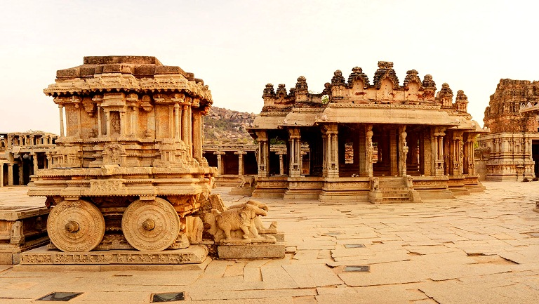 Group of moments of Hampi