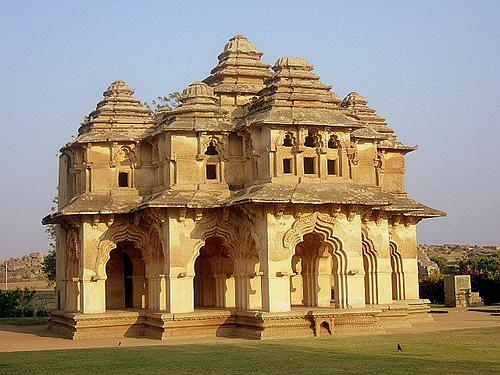 Lotus Mahal in Hampi